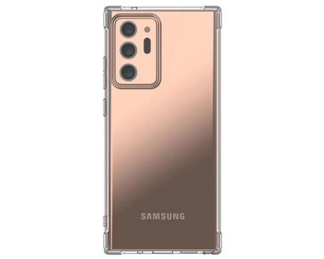 Husa Spate Upzz Mercury Bulletproof Pentru Samsung Galaxy Note 20 ,Tehnologie Air Cushion La Colturi ,Transparenta