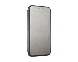 Husa Flip Carte Cu Magnet Lux Upzz Samsung Galaxy M11 ,Gri