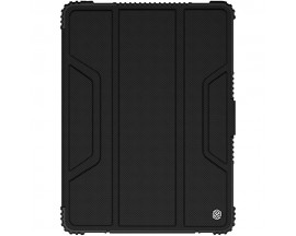 Husa Premium Originala Nillkin Armor Leather Ipad 7 / 8 10.2 Inch 2019 / 2020 Negru -