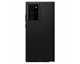 Husa Premium Originala Spigen Liquid Air Samsung Galaxy Note 20 Ultra , Negru ,silicon