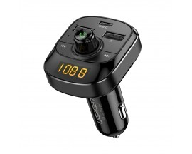 Modulator Fm Audio Bluetooth Mp3 Ungreen Bluetooth 5.0 3 x Usb TF MicroSD Functie Incarcator Masina 4,8A