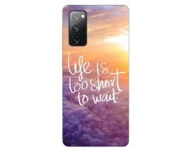 Husa Silicon Soft Upzz Print Samsung Galaxy S20 Fe Model Life