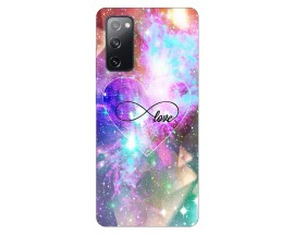 Husa Silicon Soft Upzz Print Samsung Galaxy S20 Fe Model Neon Love