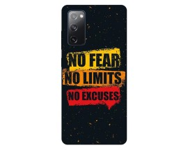 Husa Silicon Soft Upzz Print Samsung Galaxy S20 FE Model No Fear