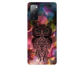 Husa Silicon Soft Upzz Print Samsung Galaxy S20 Fe Model Sparkle Owl