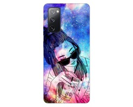 Husa Silicon Soft Upzz Print Samsung Galaxy S20 Fe Model Universe Girl