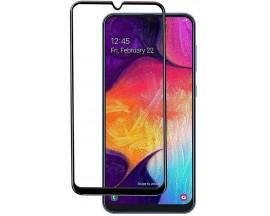 Folie Sticla Full Cover Full Glue Upzz Samsung Galaxy A20s  Cu Adeziv Pe Toata Suprafata Foliei Neagra