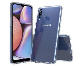 Husa Slim Upzz Tech Compatibila Cu Samsung Galaxy A20s, Transparenta Slim Silicon