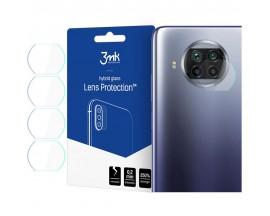 Set 4 Buc  Folie Sticla Nano Glass Pentru Camera 3mk Xiaomi Mi 10T Lite , Transparenta