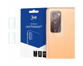 Folie Sticla Nano Glass 3mk Pentru Camera Pentru Samsung Galaxy S20 FE, Transparenta, 4 Buc In Pachet