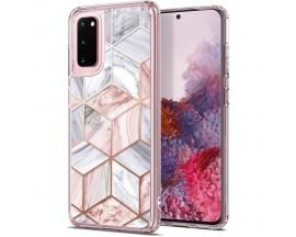 Husa Premium Spigen Ciel Etoile Pentru Samsung Galaxy S20 ,Roz