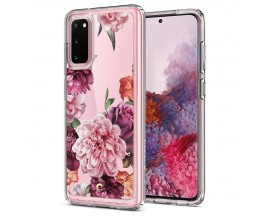 Husa Premium Spigen Ciel Pentru Samsung Galaxy S20 ,Rose Floral