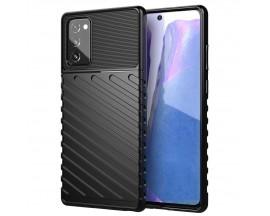 Husa Spate Upzz Thunder Case Antishock Samsung Galaxy Note 20 , Silicon , Negru