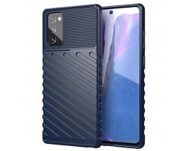 Husa Spate Upzz Thunder Case Antishock Samsung Galaxy Note 20 , Silicon , Albastru