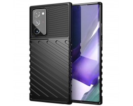 Husa Spate Upzz Thunder Case Antishock Samsung Galaxy Note 20 Ultra , Silicon , Negru