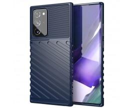Husa Spate Upzz Thunder Case Antishock Samsung Galaxy Note 20 Ultra , Silicon , Albastru