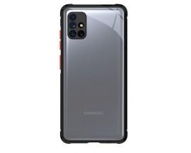 Husa Premium Upzz Tech Protect Hybridshell Pentru Samsung Galaxy M51 , Negru Rosu