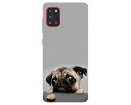 Husa Silicon Soft Upzz Print Samsung Galaxy A31 Model Dog