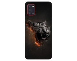 Husa Silicon Soft Upzz Print Samsung Galaxy A31 Model Tiger