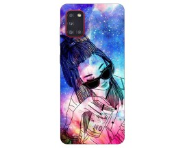 Husa Silicon Soft Upzz Print Samsung Galaxy A31 Model Universe Girl