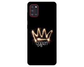 Husa Silicon Soft Upzz Print Samsung Galaxy A31 Model Queen