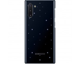 Husa Premium Originala Samsung Led Cover Pentru Samsung Galaxy Note 10,Negru