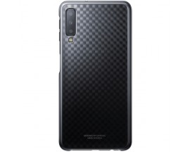 Husa Plastic Originala Samsung Galaxy A7 2018 Gradation Negru -EF-AA750CB