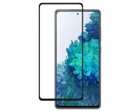 Folie Premium Full Cover Upzz Nano Flexi Glass Hybrid Pentru Samsung Galaxy S20 FE, Transparenta Cu Magini Negre