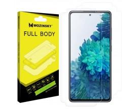 Folie Fata - Spate Wozinsky Hydrogel Regenerabila Samsung Galaxy S20 FE -functioneaza Amprenta