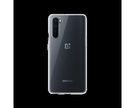 Husa Slim Upzz Compatibila Cu OnePlus Nord , Transparenta Slim Silicon,0.5mm Grosime