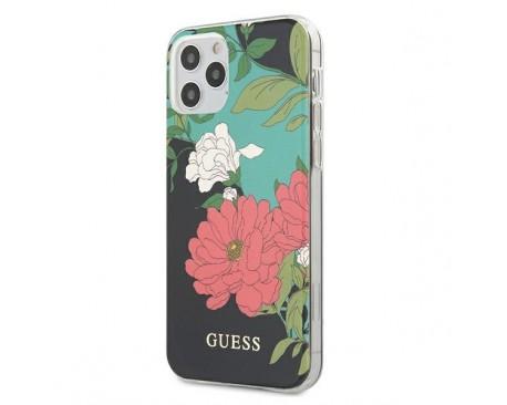 Husa Premium Originala Guess  iPhone 12 / iPhone 12 Pro , Colectia Flower - GUHCP12MIMLFL01