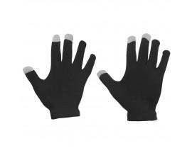 Manusi Touchscreen Upzz Unisex Winter Striped -Negru