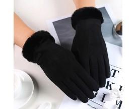 Manusi Touchscreen Upzz Soft Winter - Negru