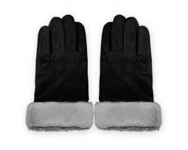 Manusi Touchscreen Upzz Soft Winter - Negru Gri