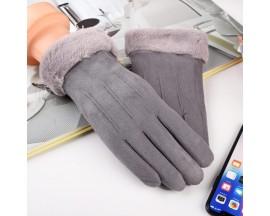 Manusi Touchscreen Upzz Soft Winter - Gri