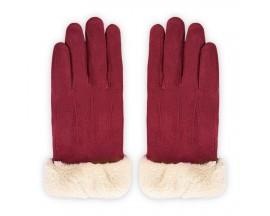 Manusi Touchscreen Upzz Soft Winter - Bordo