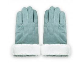 Manusi Touchscreen Upzz Soft Winter - Albastru Deschis