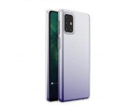 Husa Slim Upzz Pentru Samsung Galaxy M31s ,transparenta, 0.5mm Grosime