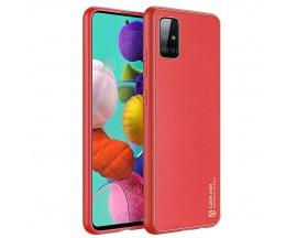 Husa Premium DuxDucis Yolo Pentru Samsung Galaxy A51, Rosu