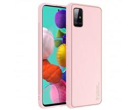 Husa Premium DuxDucis Yolo Pentru Samsung Galaxy A51, Roz