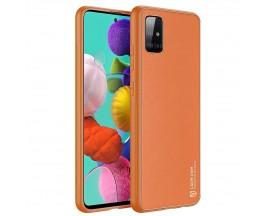 Husa Premium DuxDucis Yolo Pentru Samsung Galaxy A51, Portocaliu