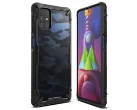 Husa Premium Ringke Fusion X  Compatibila Cu Samsung Galaxy M51 ,camo