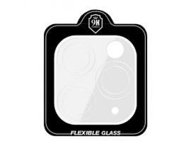 Folie Nano Flexi Upzz Pentru Camera iPhone 12 / iPhone 12 Pro, Transparenta