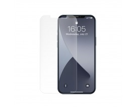 Set 2 x Folie Sticla Securizata Premium Baseus Pentru iPhone 12 / iPhone 12 Pro, Matta Transparenta -SGAPIPH61P-LM02