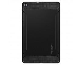 Husa Tableta Premium Spigen Rugged Armor Pentru Samsung Galaxy Tab A 10.1inch 2019 Model T510 / T515 Negru