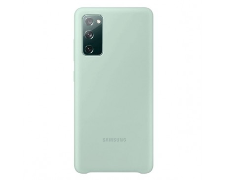 Husa Originala Samsung Silicone Cover Pentru Samsung Galaxy S20 Fe, Verde Menta - EF-PG780TM