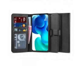 Husa Flip Carte Upzz Tech Wallet 2 Xiaomi Mi 10T Lite, Negru
