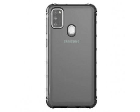 Husa Spate Araree Samsung Pentru Samsung Galaxy M21 ,silicon Antishock Fumuriu