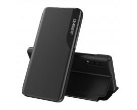 Husa Tip Carte Upzz Eco Book Compatibila Cu Huawei P30 Pro, Piele Ecologica -Negru