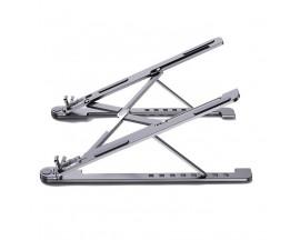 """Suport Laptop Universal Premium Upzz  Protect Din Aluminiu, Pliabil - Gri, Pentru Laptop-uri 11""""-14"""""""